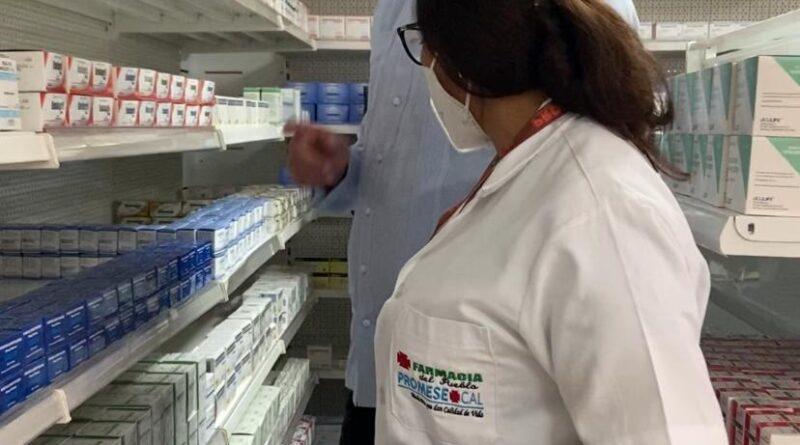 Con abastecimiento de farmacias Promese/Cal busca garantizar acceso a medicamentos durante asueto SS