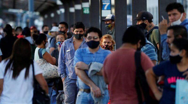Coronavirus: tras cuatro días de récords de casos, Argentina alcanzó los 2,5 millones de contagios desde que comenzó la pandemia