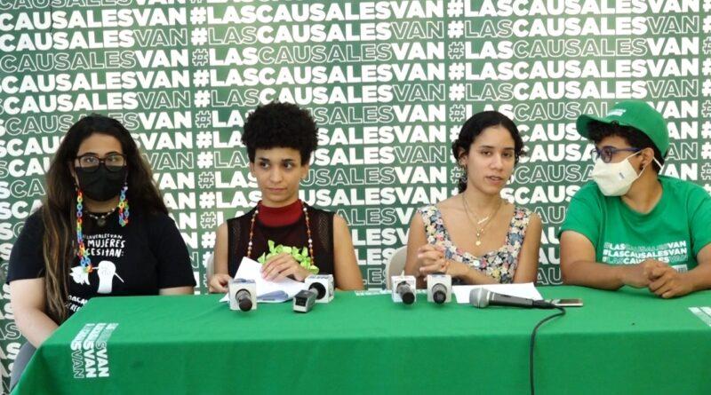 Artistas demandan inclusión de las causales en el Código Penal