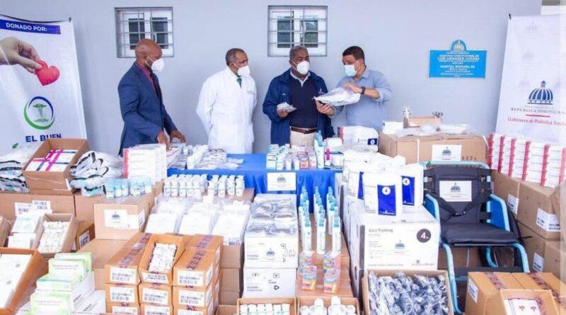 Donan 14 millones en medicamentos por Semana Santa