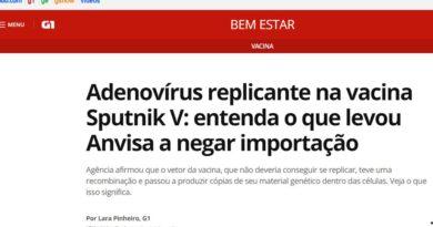 La decisión de Brasil de frenar la importación de la vacuna Sputnik V suma apoyos en el mundo científico