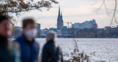541 nuevos casos de corona en Hamburgo