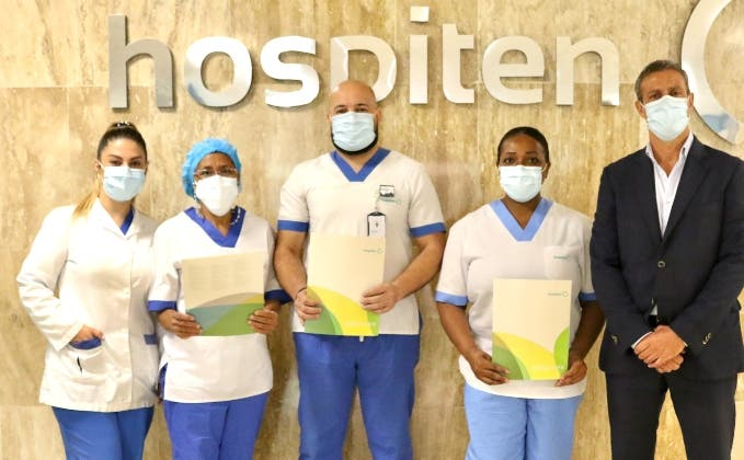Hospiten reconoce la labor de las enfermeras