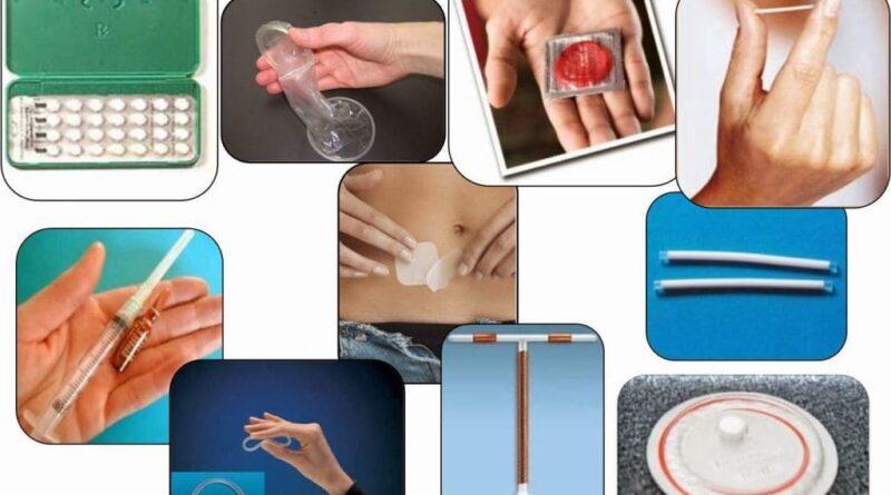 Tipos de métodos anticonceptivos y efectividad