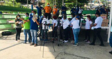 Salud Pública realiza jornada contra el Covid-19, la malaria, dengue, zika y chikunguya en La Zurza