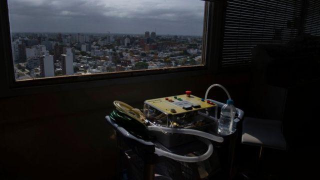 Hospital en Montevideo.
