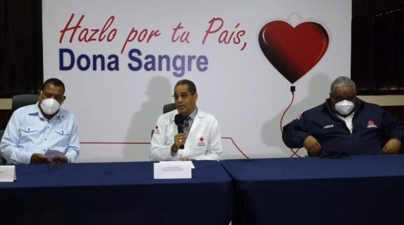 Cruz Roja lanza campaña para promover cultura de donación de sangre entre dominicanos