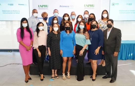 Periodistas se especializan en Bioética y Comunicación en Salud con aval de la UNPHU
