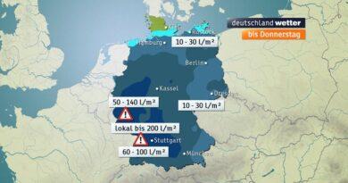 Los meteorólogos advierten de fuertes lluvias