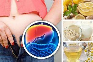 Bebidas nocturnas para desintoxicar hígado y perder peso