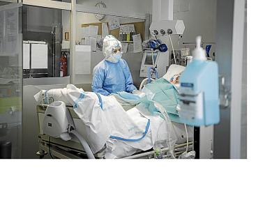 Solo el 20% de camas Covid está ocupado en hospitales