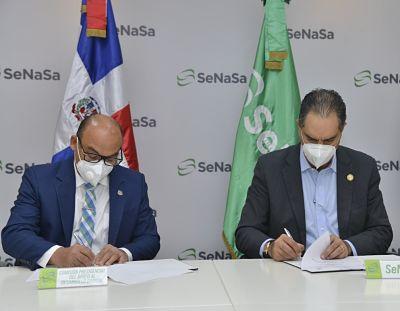 SeNaSa y la Comisión Barrial beneficiarán a sectores de Santo Domingo