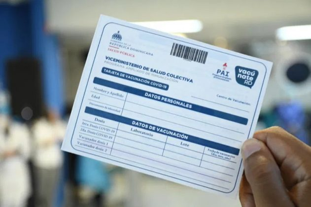 Lugares públicos, empresas y centros educativos exigirán tarjeta de vacunación con dos dosis